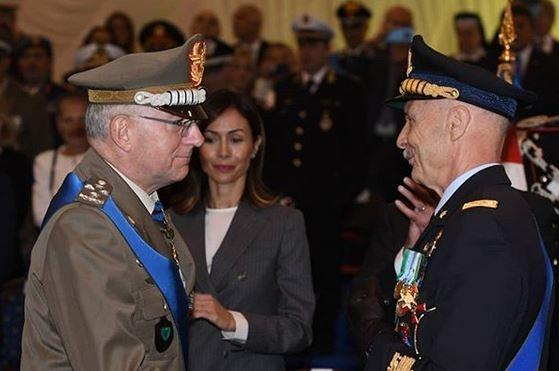 Gen. Graziano e Gen. Vecciarelli