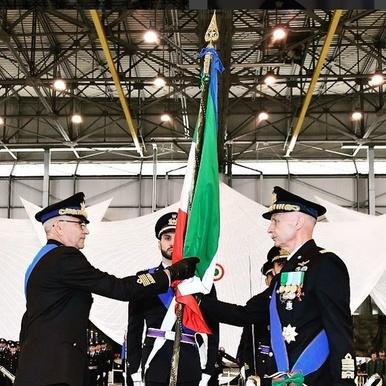 Generale Alberto Rosso e Generale Enzo Vecciarelli